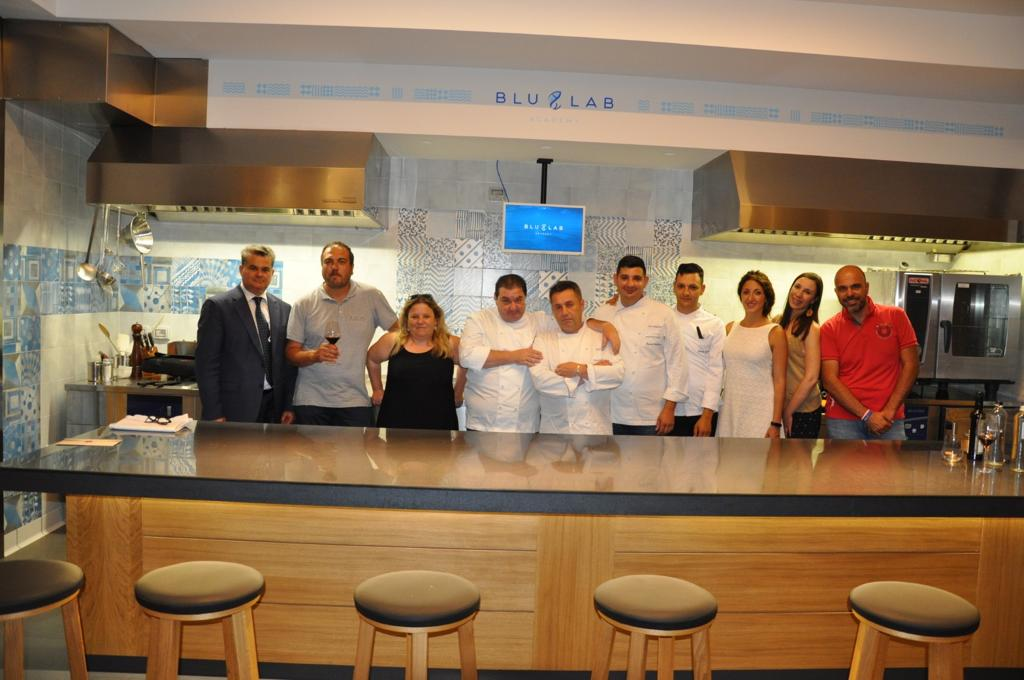 Cooking- Chef Table Blu Lab Academy- Foto Gruppo
